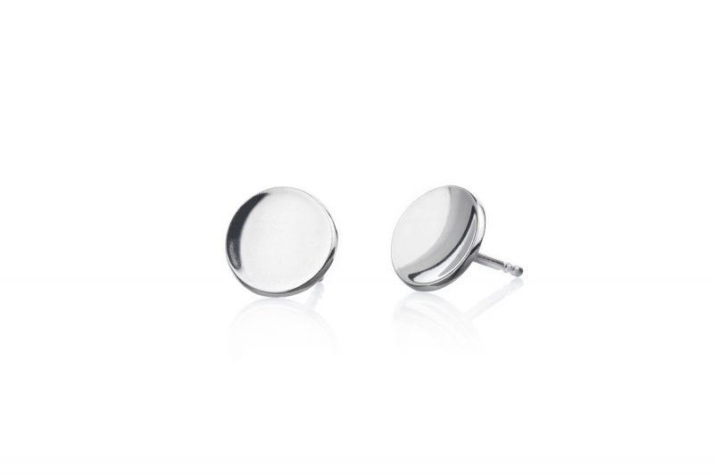 Miniplaneter blank sølv