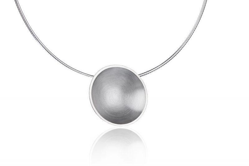 Planetkjede matt sølv