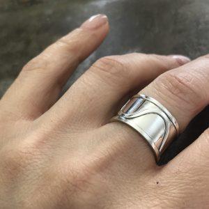Ring i argentium