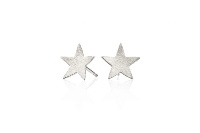 Stjerner ørestuds sølv